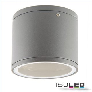 Aufbauleuchte IP54 für GX53 Leuchtmittel, silber, exkl. Leuchtmittel