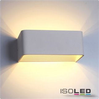 LED Wandleuchte Up&Down 6W, IP40, weiß, warmweiß