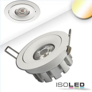 LED Einbaustrahler SUNSET, weiß, 15W, 45°, 2200-3100K, Dimm-to-warm
