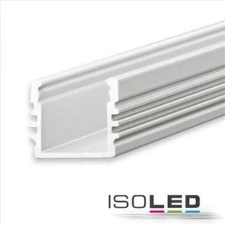 LED Aufbauprofil SURF12 Aluminium eloxiert, 200cm