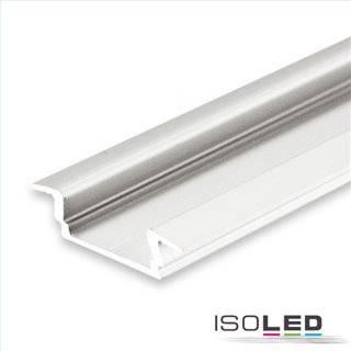 LED Einbauprofil DIVE12 FLAT Aluminium eloxiert, 200cm