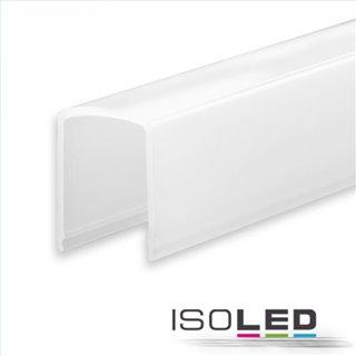 Abdeckung COVER4 opal/satiniert 200cm für Profil SURF12 RAIL/BORDERLESS (FLAT)