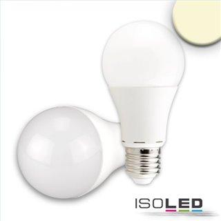 E27 LED Birne 15W G60, 240°, milky, warmweiß