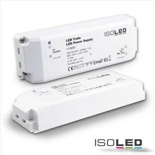 LED Trafo 12V/DC, 0-100W, SELV