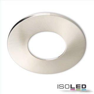 Cover Aluminium nickel gebürstet für Einbaustrahler Sys-68
