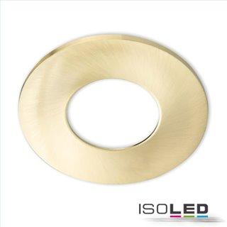 Cover Aluminium gold gebürstet für Einbaustrahler Sys-68