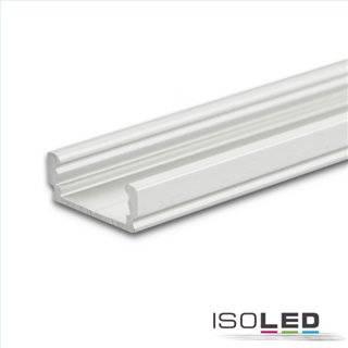 LED Aufbauprofil SURF12 FLAT Aluminium eloxiert, 550cm