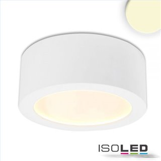 LED Aufbauleuchte LUNA 8W, weiß, indirektes Licht, warmweiß