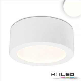 LED Aufbauleuchte LUNA 8W, weiß, indirektes Licht, neutralweiß