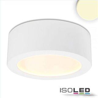 LED Aufbauleuchte LUNA 12W, weiß, indirektes Licht, warmweiß