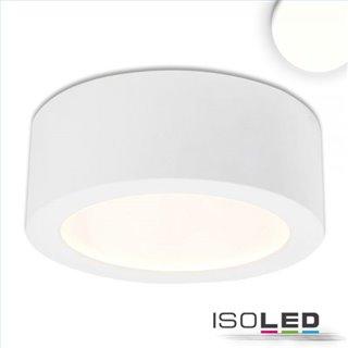 LED Aufbauleuchte LUNA 12W, weiß, indirektes Licht, neutralweiß
