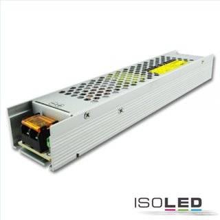 LED Trafo 12V/DC, 0-200W, Gitter Slim