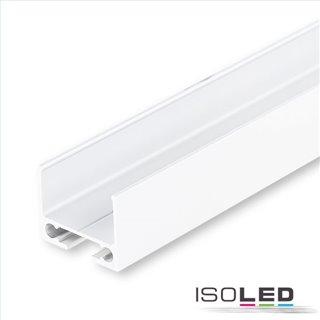 Kabelschleuse TUNNEL für Profile, pulverbeschichtet weiß RAL 9010, 200cm