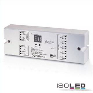 DALI DT6 PWM-Controller, 1 oder 4 Kanal, 12-36V 4x8A, 48V 4x4A