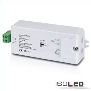 DALI PWM-Controller 12-36V, 1 Kanal, 12-36V 8A, 48V 4A