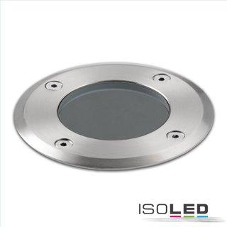 Bodeneinbaustrahler für GU10, rund, IP67, exkl. Leuchtmittel