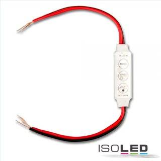 LED Strip Mini Kabel PWM-Controller, 1 Kanal, 12-24V DC 3A