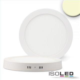 LED Deckenleuchte weiß, 24W, rund, 300mm, warmweiß dimmbar