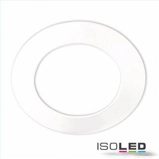 Cover Aluminium rund weiß für Einbaustrahler Sys-90