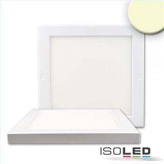 Deckenlampe Slim 18mm, weiß, 18W, Trafo integriert, warmweiß