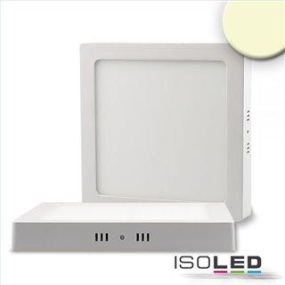 LED Deckenleuchte weiß, 24W, quadratisch, 300x300mm, warmweiß, dimmbar