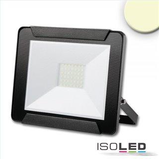 LED Fluter 30W, warmweiß, schwarz, IP65