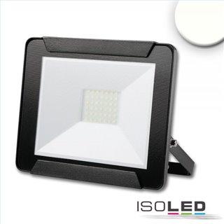 LED Fluter 30W, neutralweiß, schwarz, IP65
