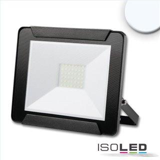 LED Fluter 30W, kaltweiß, schwarz, IP65