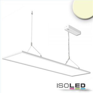 LED Office Hängeleuchte Up+Down, 20+20W, 30x120cm, weiß, UGR19, 3000K, dimmbar