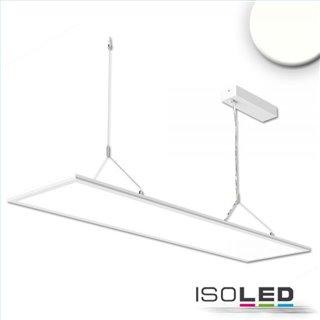 LED Office Hängeleuchte Up+Down, 20+20W, 30x120cm, weiß, UGR19, 4000K, dimmbar
