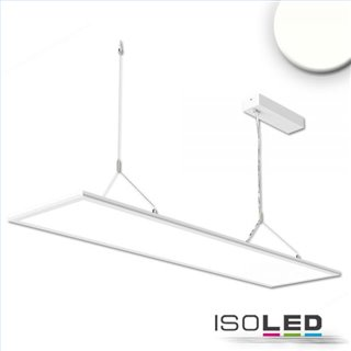 LED Office Hängeleuchte Up+Down, 20+20W, 30x120cm, weiß, UGR19, 4000K, dimmbar
