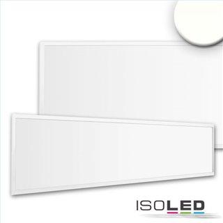 LED Panel Business Line 1200 UGR19 2H, 36W, Rahmen weiß RAL 9016, neutralweiß, Push/DALI dimmbar