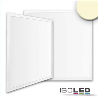 LED Panel Business Line 600 UGR19 2H, 36W, Rahmen weiß RAL 9016, warmweiß, Push/DALI dimmbar