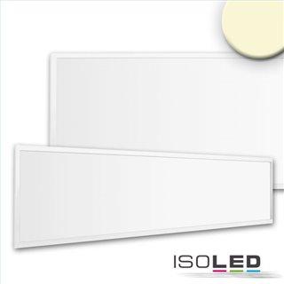 LED Panel Business Line 1200 UGR19 2H, 36W, Rahmen weiß RAL 9016, warmweiß, Push/DALI dimmbar