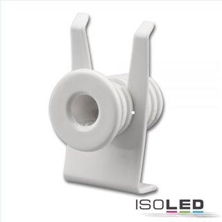 Mini-Plug Anschlussblende mit Zugentlastung für 113527/113546, weiß
