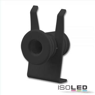 Mini-Plug Anschlussblende mit Zugentlastung für 113528, schwarz