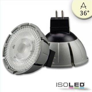 MR16 Vollspektrum LED Strahler 7W COB, 36°, 2700K, dimmbar