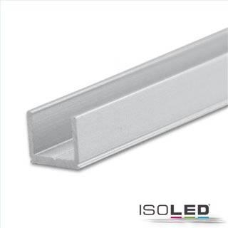LED Aufbauprofil SURF6 Aluminium eloxiert, 200cm