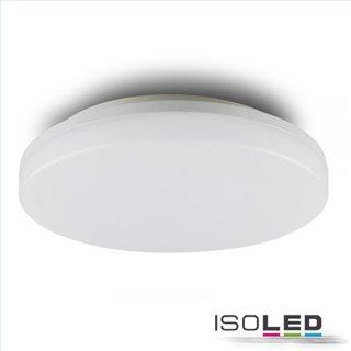 LED Decken/Wandleuchte mit HF-Bewegungssensor 24W, IP54, ColorSwitch 3000K|4000K, weiß