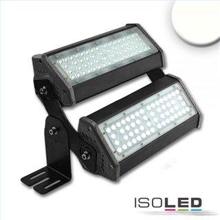 LED Fluter/Hallenleuchte LN 2x 50W 30°x70°, IP65, 1-10V dimmbar, neutralweiß