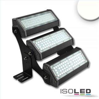 LED Fluter/Hallenleuchte LN 3x 50W 30°x70°, IP65, 1-10V dimmbar, neutralweiß