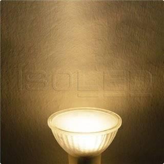 GU10 LED Strahler 3W, 270°, opal, warmweiß, dimmbar