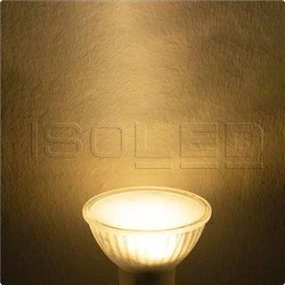 MR16 LED Strahler 3,5W, 270°, opal, warmweiß