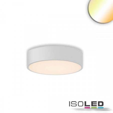 LED Deckenleuchte, DM 40cm, weiß, 25W, ColorSwitch 3000|3500|4000K, dimmbar