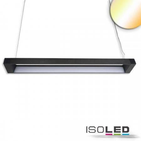 LED Hängeleuchte Frame 40W, schwarz, ColorSwitch 3000|4000|5700K
