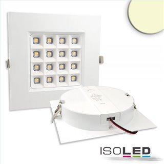 LED Downlight Prism 10W, UGR19, IP54, warmweiß, dimmbar