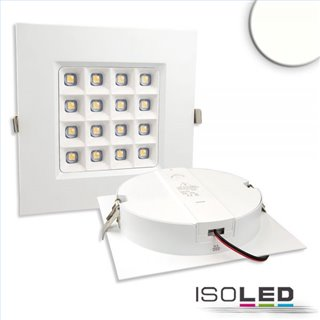 LED Downlight Prism 10W, UGR19, IP54, neutralweiß, dimmbar