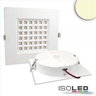 LED Downlight Prism 18W, UGR19, IP54, warmweiß, dimmbar