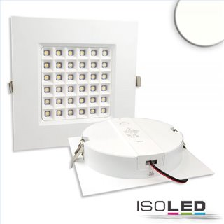LED Downlight Prism 18W, UGR19, IP54, neutralweiß, dimmbar