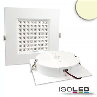 LED Downlight Prism 25W, UGR19, IP54, warmweiß, dimmbar